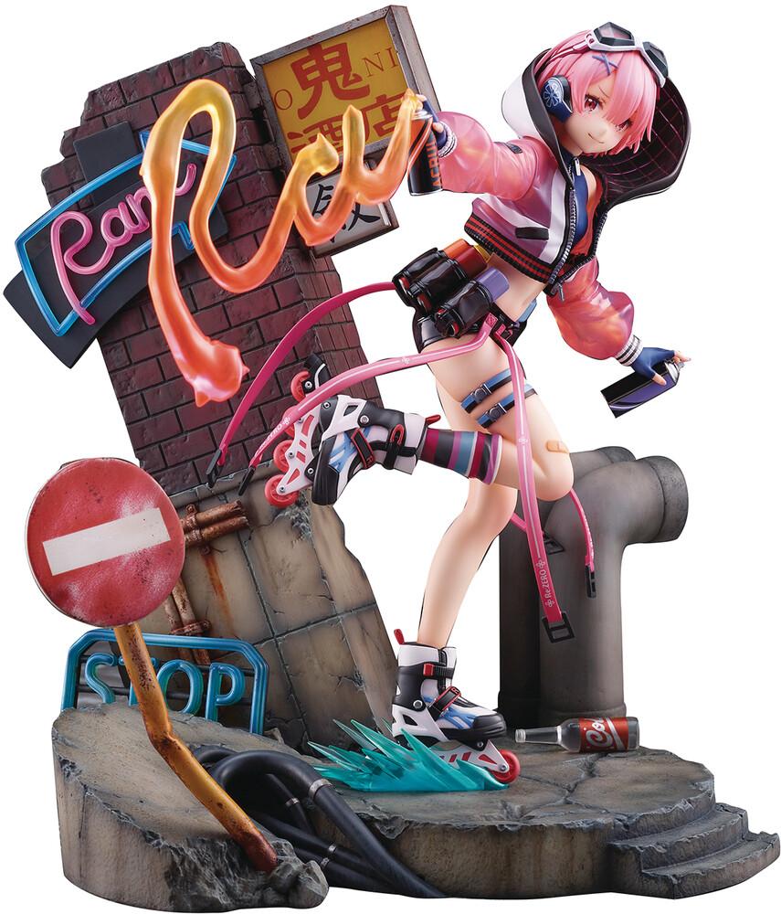 - Re Zero Starting Life Ram Neon City 1/7 Pvc Fig