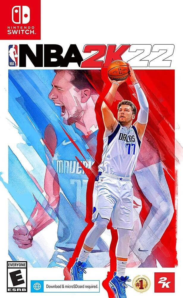 Swi NBA 2K22 - NBA 2K22 for Nintendo Switch