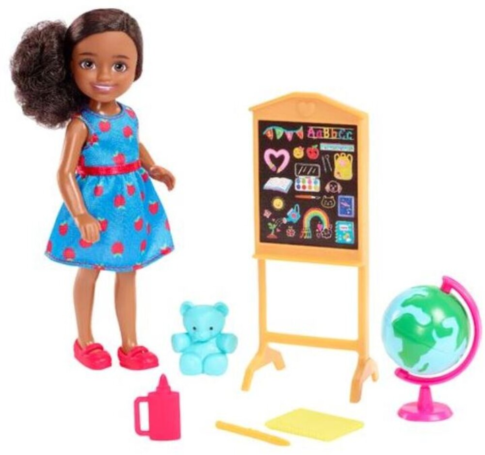 Barbie - Barbie Family Chelsea Career Teacher Doll (Papd)