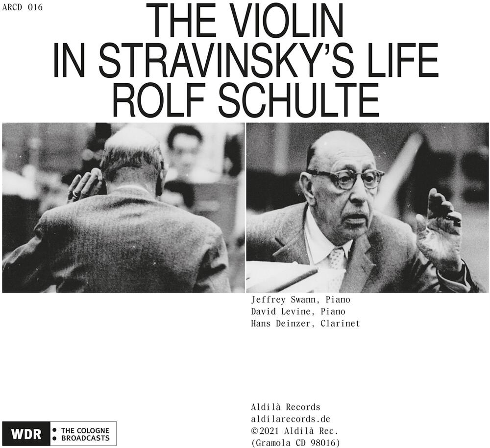 Stravinsky / Schulte - Violin in Stravinsky's Life
