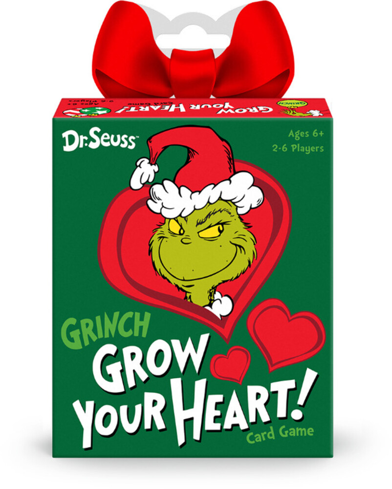 Funko Signature Games: - Dr. Seuss Grinch Grow Your Heart Game (Crdg)