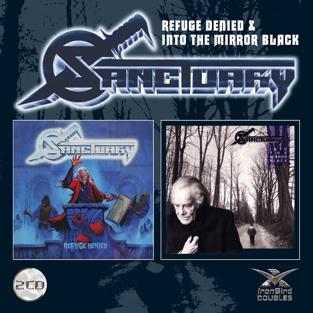 Sanctuary - Refuge Denied/Into The Mirror Black [Import]