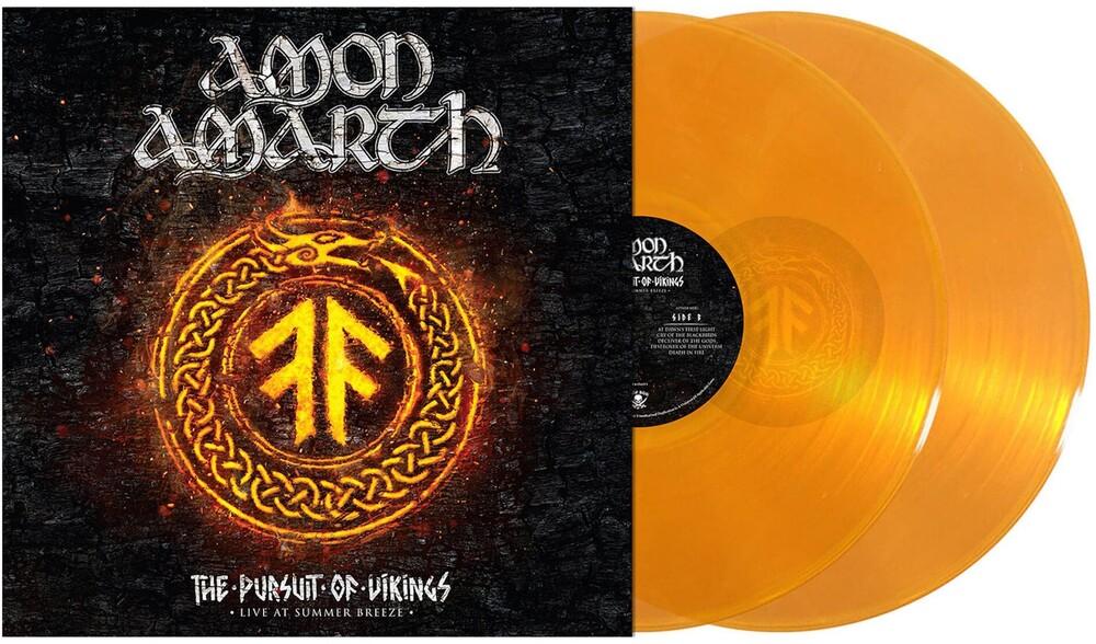 Amon Amarth - The Pursuit of Vikings: Live at Summer Breeze [Transparent Orange 2LP]