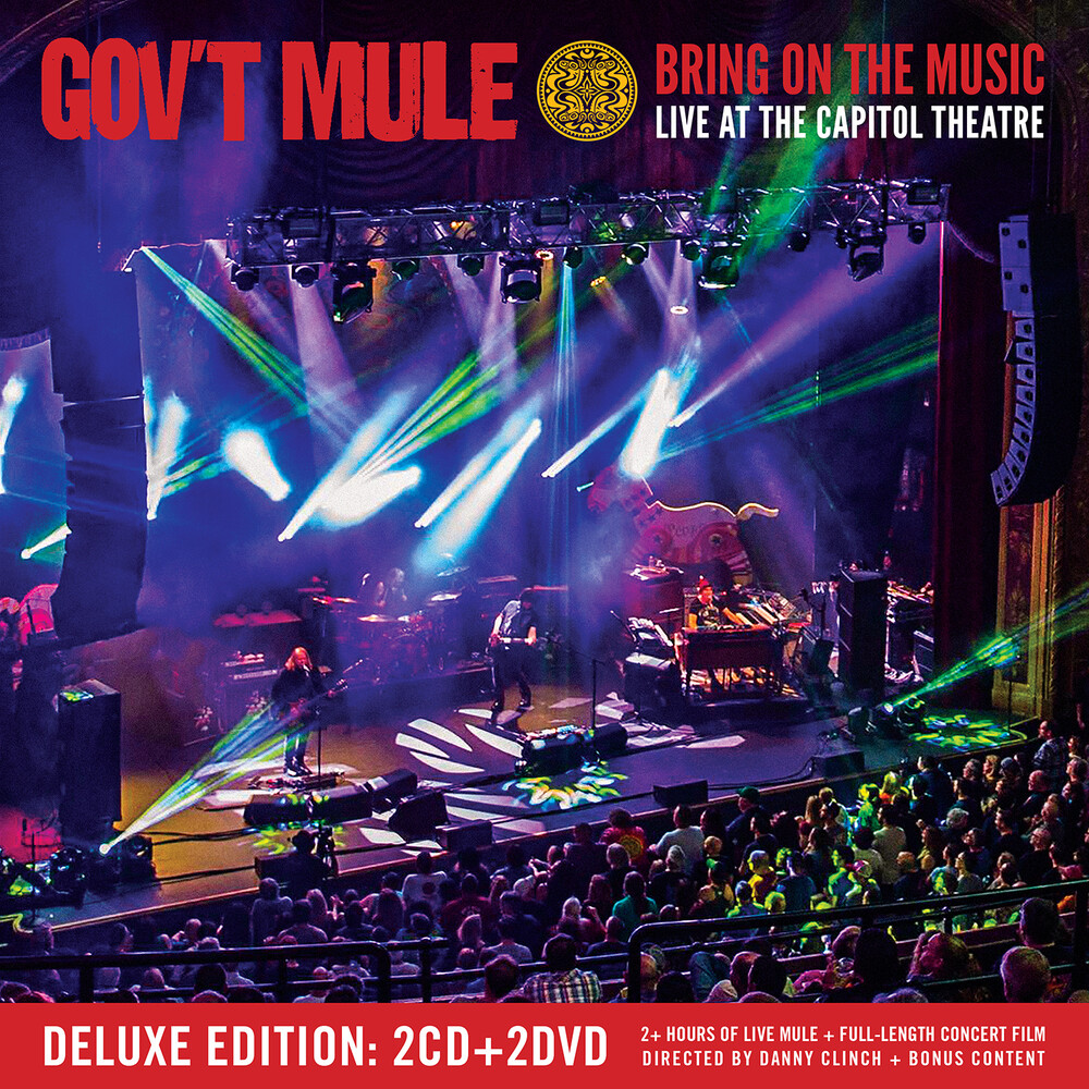 Gov't Mule - Bring On The Music - Live at The Capitol Theatre [Deluxe 2CD+2DVD]
