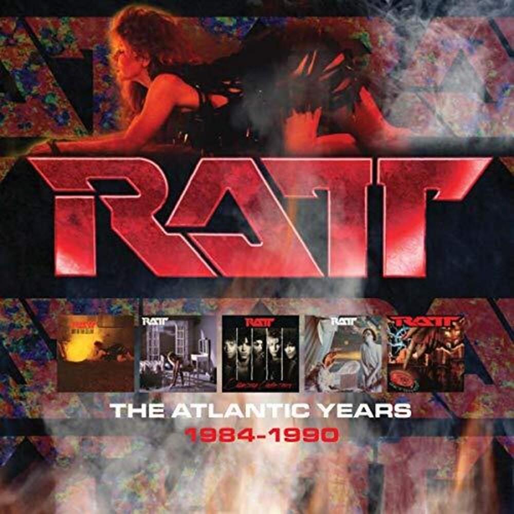Ratt - Atlantic Years 1984-1990 (Box) (Uk)