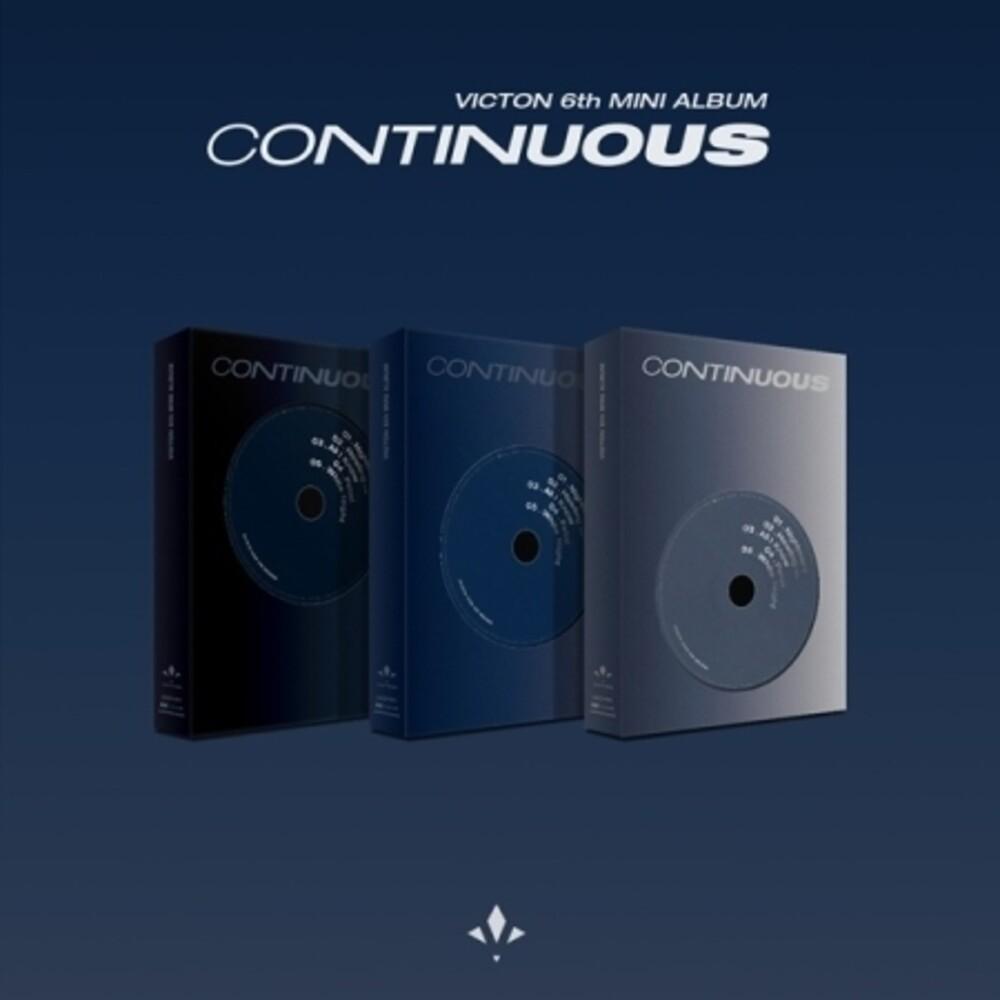 Victon - Continious (incl. 112pg Photobook, 16pg Lyric Book, Transparent Film, ,Photocard + AR Photocard)