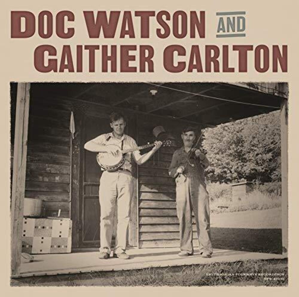 Doc Watson & Gaither Carlton - Doc Watson And Gaither Carlton [LP]