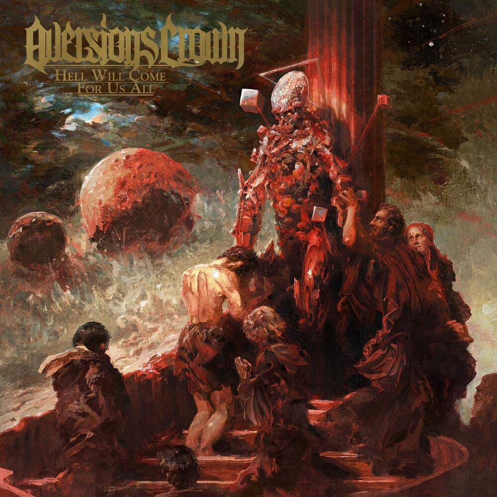 Aversions Crown - Hell Will Come For Us All [Red / Black Splatter LP]