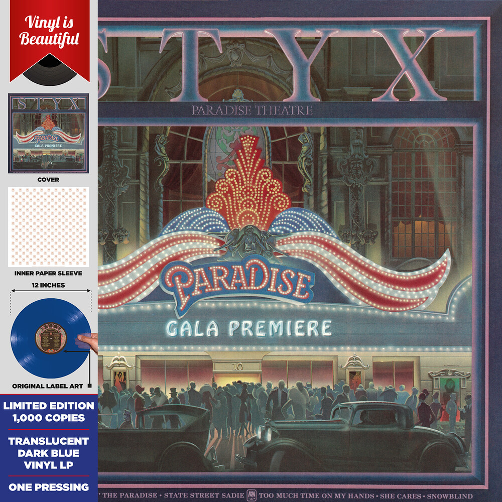 Styx - Paradise Theatre (Blue) [Record Store Day]
