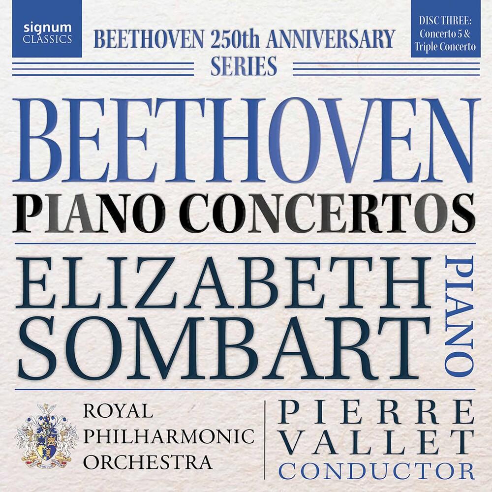 Elizabeth Sombart - Piano Concertos 3