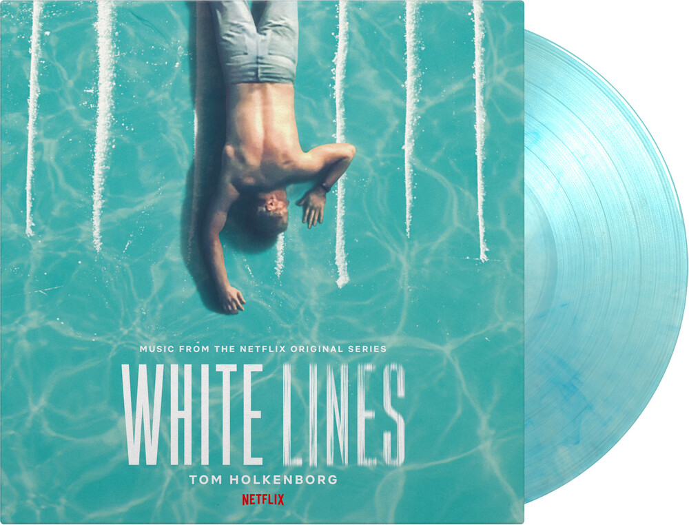 Tom Holkenborg Blue Ltd - White Lines / O.S.T. (Blue) (Ltd)