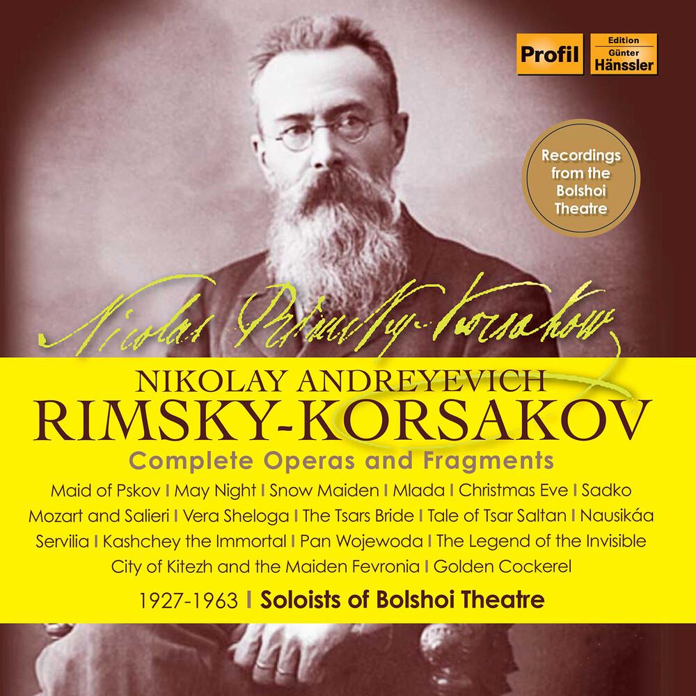 RIMSKY-KORSAKOV - Complete Operas & Fragments (Box)