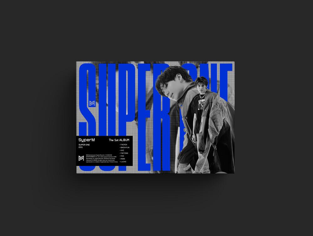 SuperM - SuperM The 1st Album Super One (Unit A Ver. TAEYONG & TAEMIN)