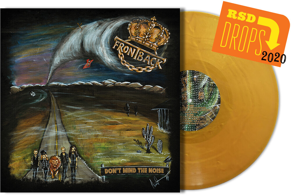Frontback - Don't Mind The Noise (Iex) (Gold Vinyl) (Iex)