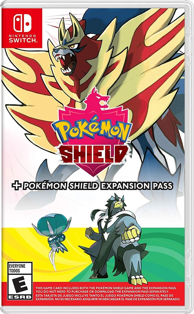 Swi Pokemon Shield + Shield Expansion - Pokemon Shield + Pokemon Shield Expansion Pass for Nintendo Switch