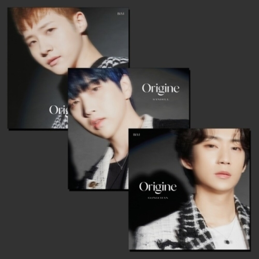 B1a4 - Origine (Random Cover) (incl. 64pg Photobook, Lyrics Poster + 3pcPhotocard)