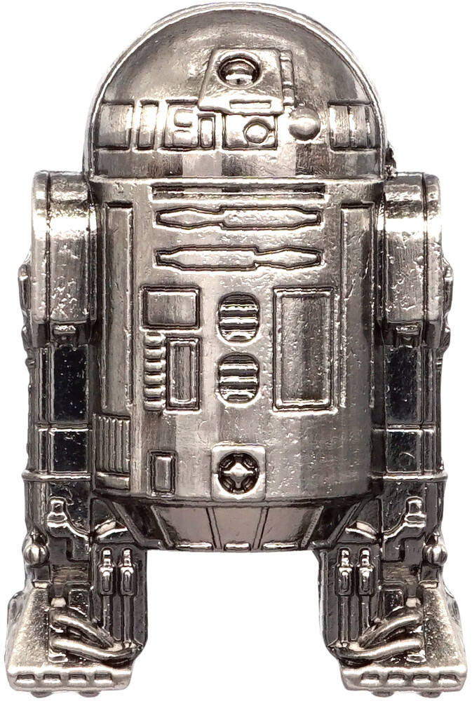 Star Wars - R2-D2 Pewter Lapel Pin - Star Wars - R2-D2 Pewter Lapel Pin