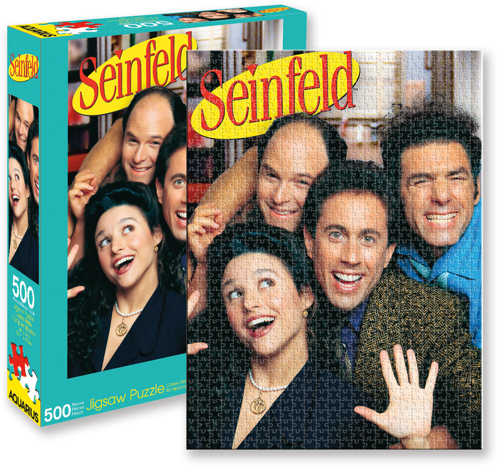 Seinfeld Group 500 PC Jigsaw Puzzle - Seinfeld Group 500 Pc Jigsaw Puzzle