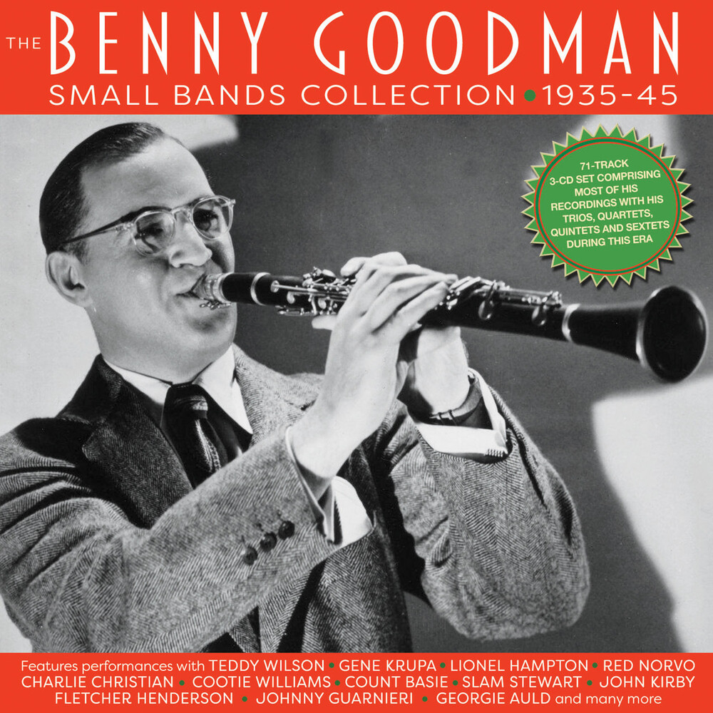 Benny Goodman - Benny Goodman Small Bands Collection 1935-45