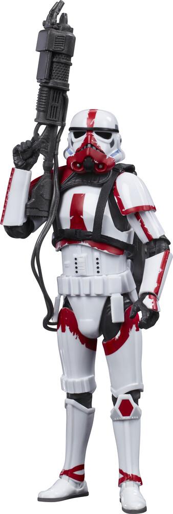 SW Bl Man Incinerator Trooper - Hasbro Collectibles - Star Wars Black Series Incinerator Trooper