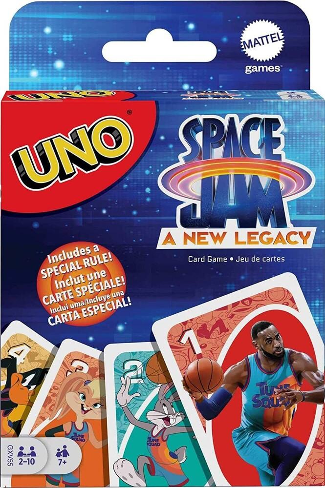Uno - Mattel Games - UNO Space Jam 2