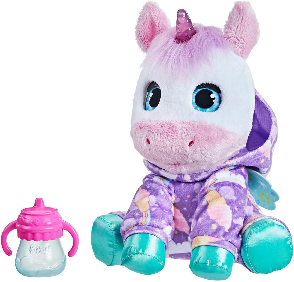Frr Bedtime Unicorn - Hasbro Collectibles - Furreal Friends Bedtime Unicorn