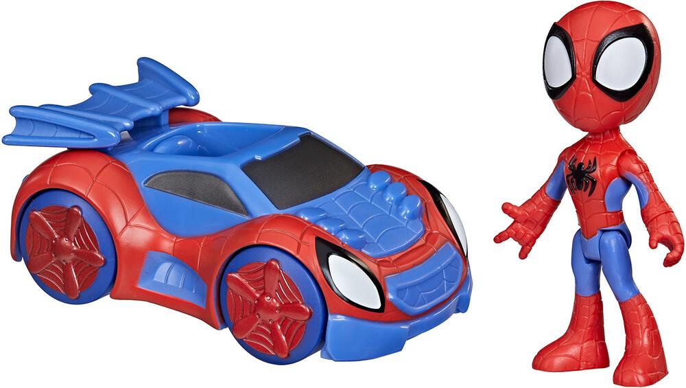 Saf Spidey Web Crawler - Hasbro Collectibles - Spidey And His Amazing Friends Web Crawler