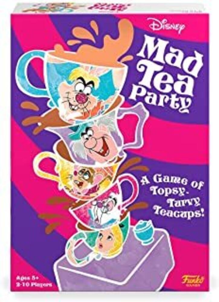 - FUNKO SIGNATURE GAMES: Mad Tea Party Game