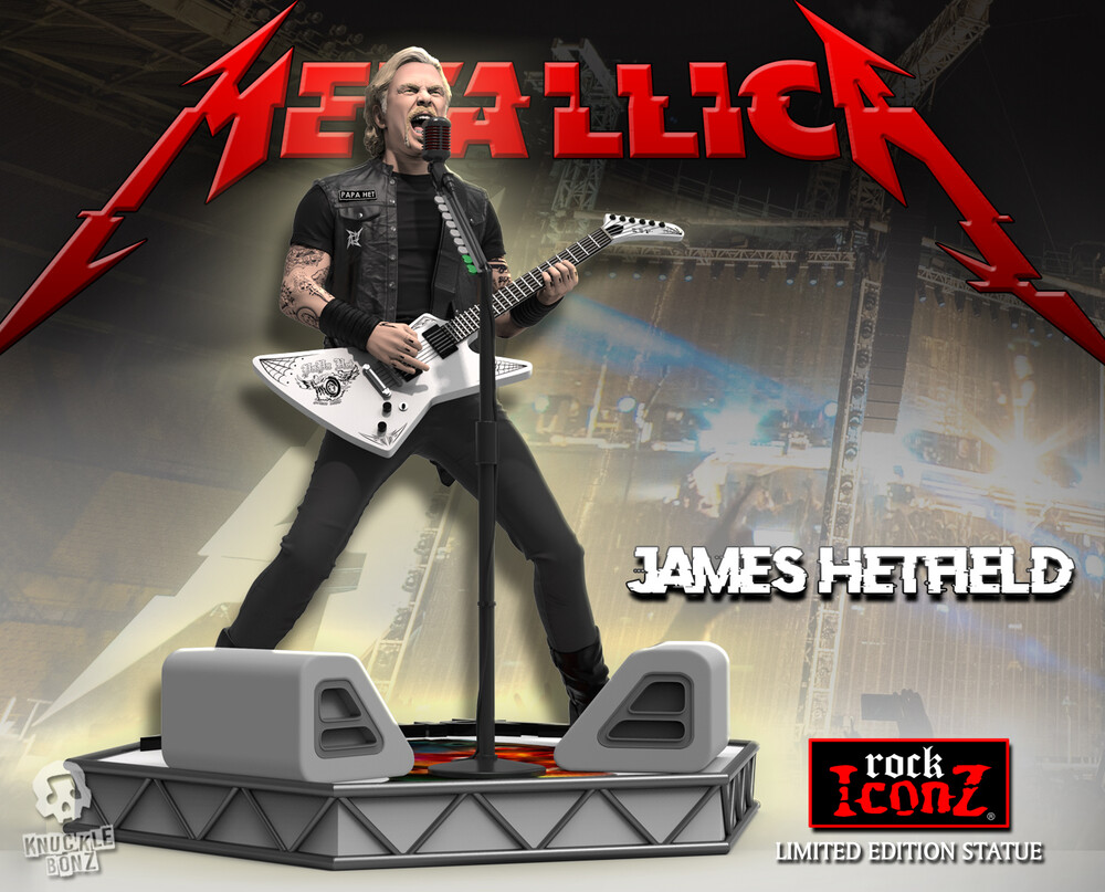 Knucklebonz - Knucklebonz - Metallica - James Hetfield Rock Iconz
