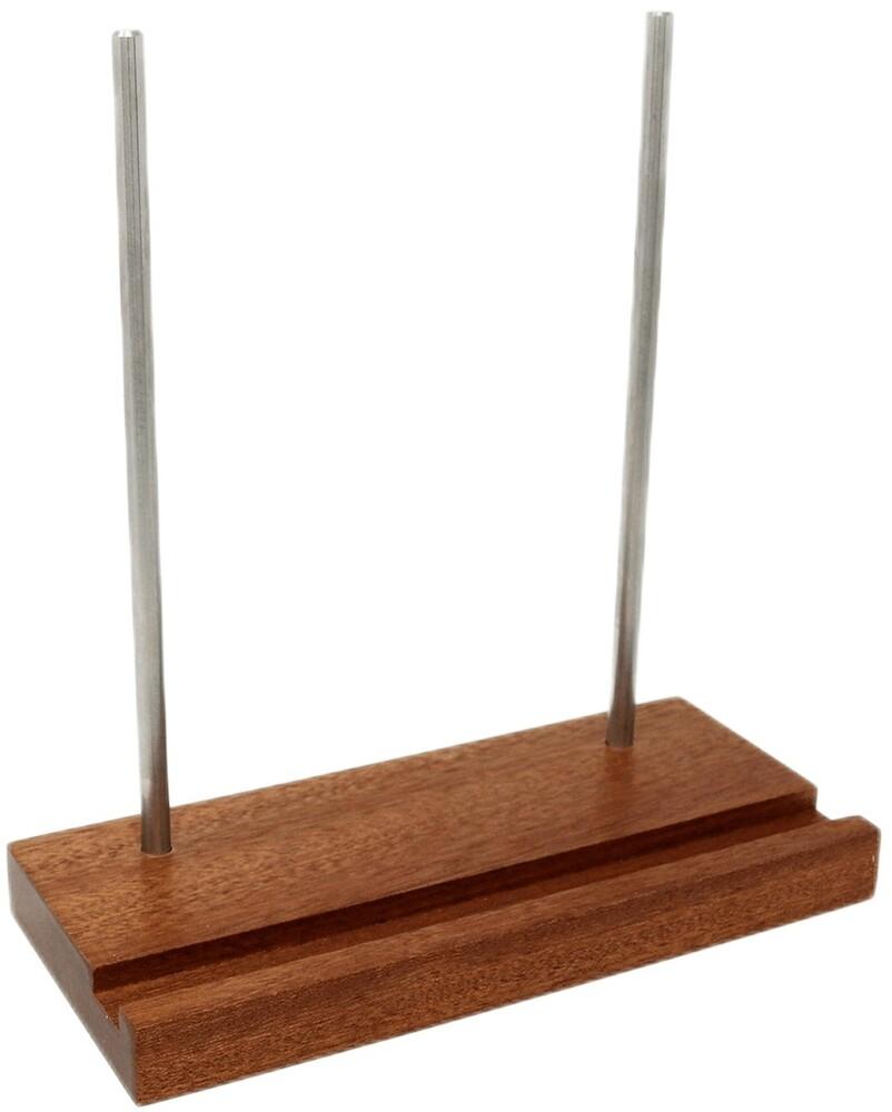 Big Fudge Bfrds-S101Us Wood Rcrd Hldr Stand Sapele - Big Fudge Bfrds-S101us Wood Rcrd Hldr Stand Sapele