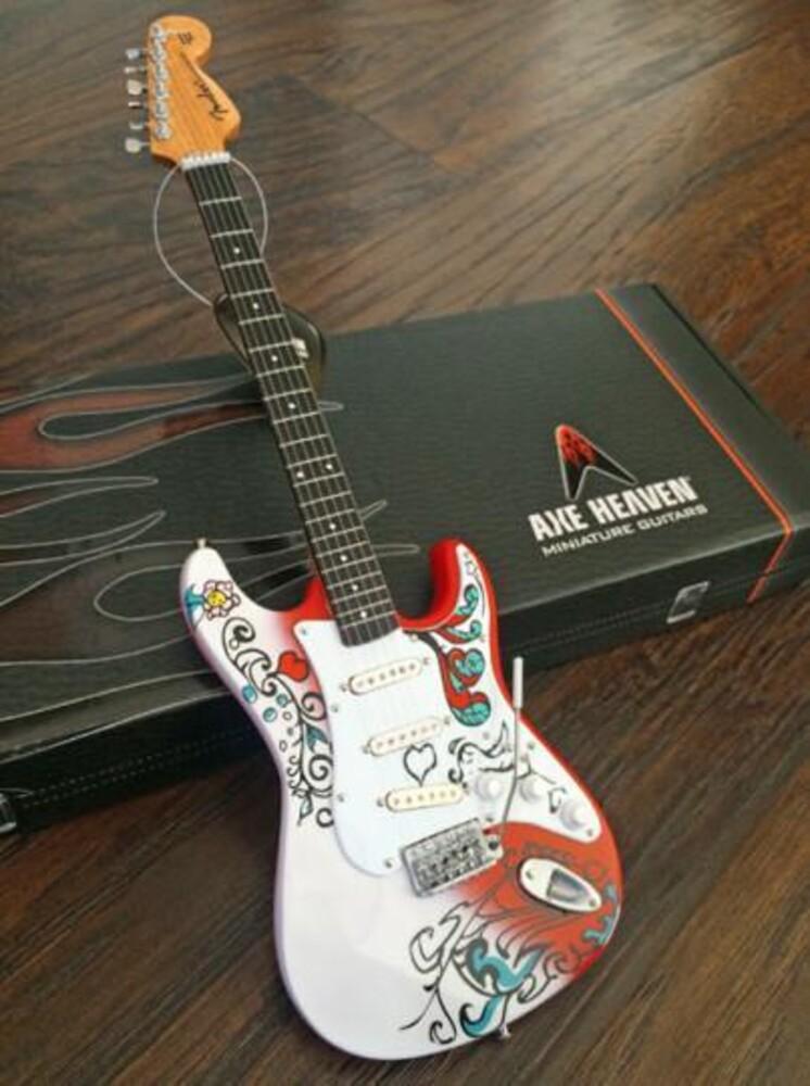- Jimi Hendrix Fender Strat Monterey Pop Guitar
