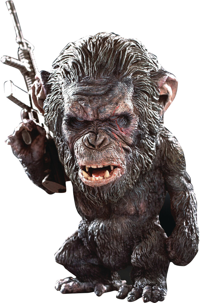 - Planet O/T Apes Koba Defo Real Soft Vinyl Fig Gun