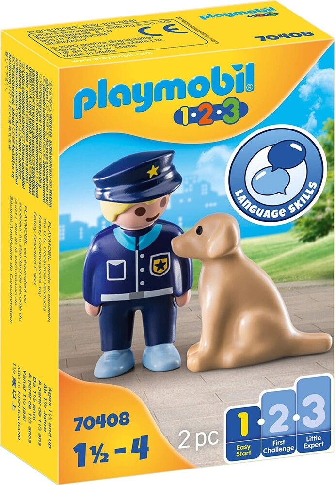 - 123 Police Officer With Dog (Fig)