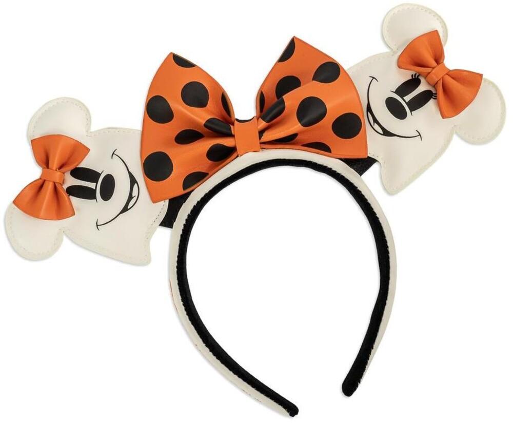 Loungefly Disney: - Ghost Minnie Glow In The Dark Cosplay Headband