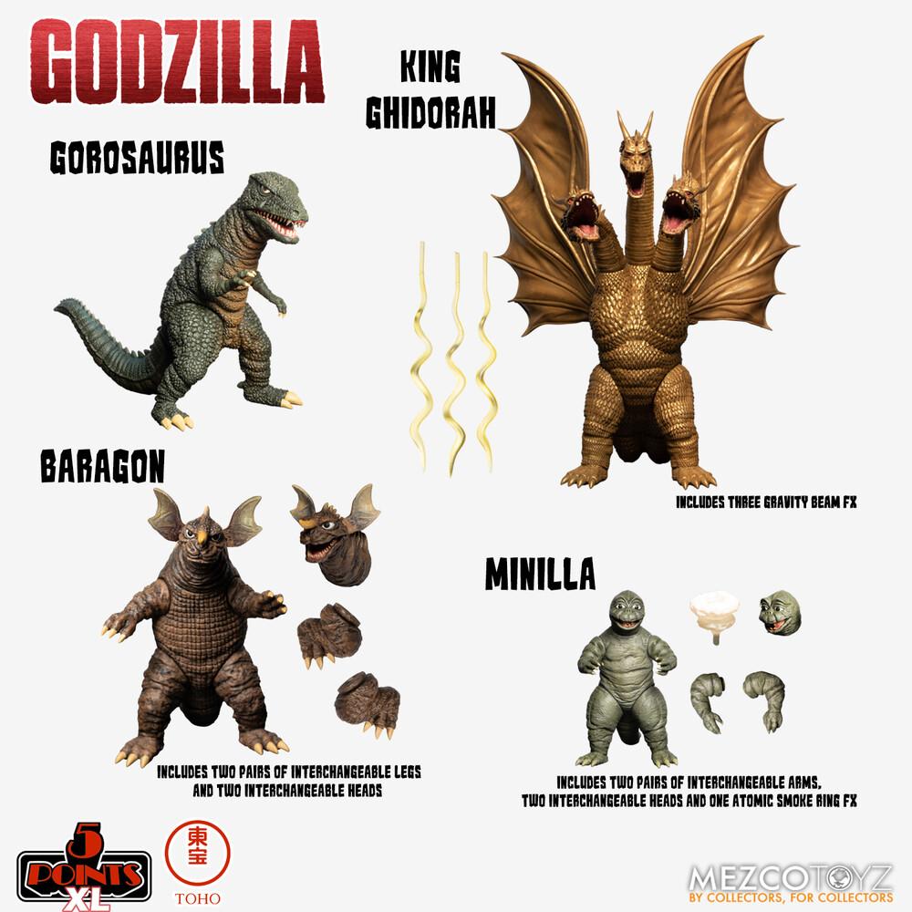 - Godzilla: Destroy All Monsters (1968) Round 2 Set