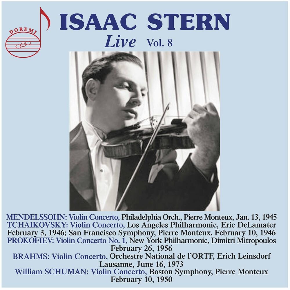 Brahms / Stern - Isaac Stern Live 8 (2pk)