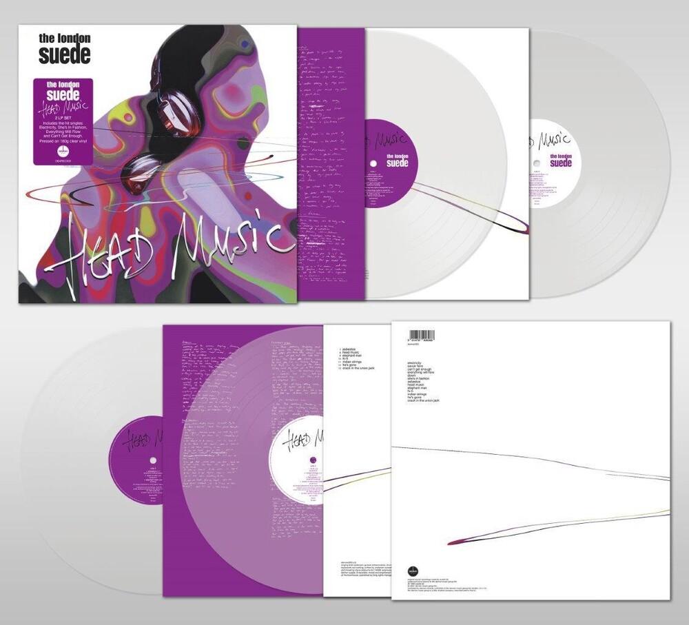 London Suede - Head Music [Clear Vinyl] [180 Gram] (Uk)