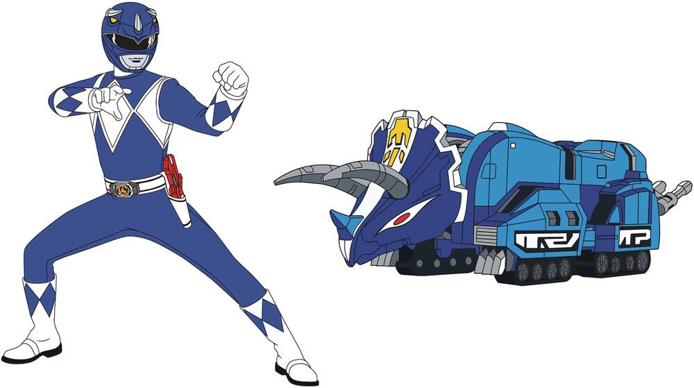 - Power Rangers Blue Ranger X Triceratops Zord Pin S