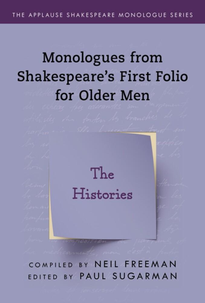 Neil Freeman - Shakespeares Monologues For Older Men Histories