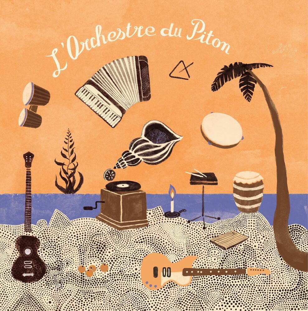 Les Pythons De La Fournaise - L 'orchestre Du Piton [Colored Vinyl] [Limited Edition] [180 Gram]