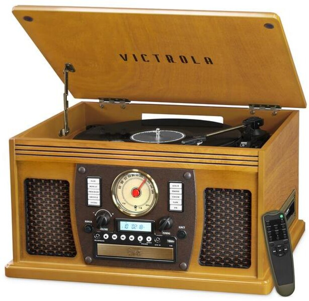 - Victrola Vta600boak Navigator Bt 8/1 Music Ctr Oak