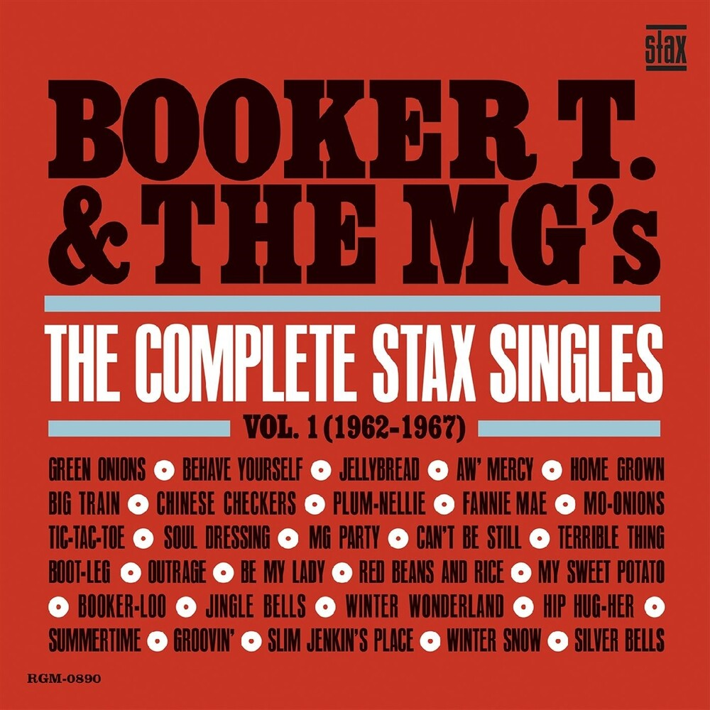 Booker T & Mg's - Complete Stax Singles 1 (1962-1967) [Colored Vinyl] (Red)