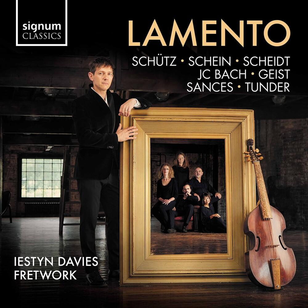 J Bach .C. / Davies / Fretwork - Lamento