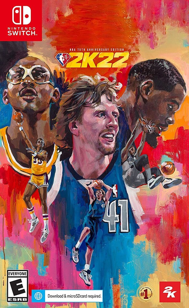 Swi NBA 2K22 75th Anniversary - Swi Nba 2k22 75th Anniversary