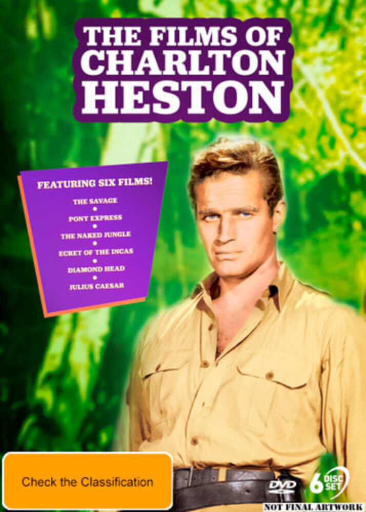 Films of Charlton Heston - Films Of Charlton Heston [NTSC/0]