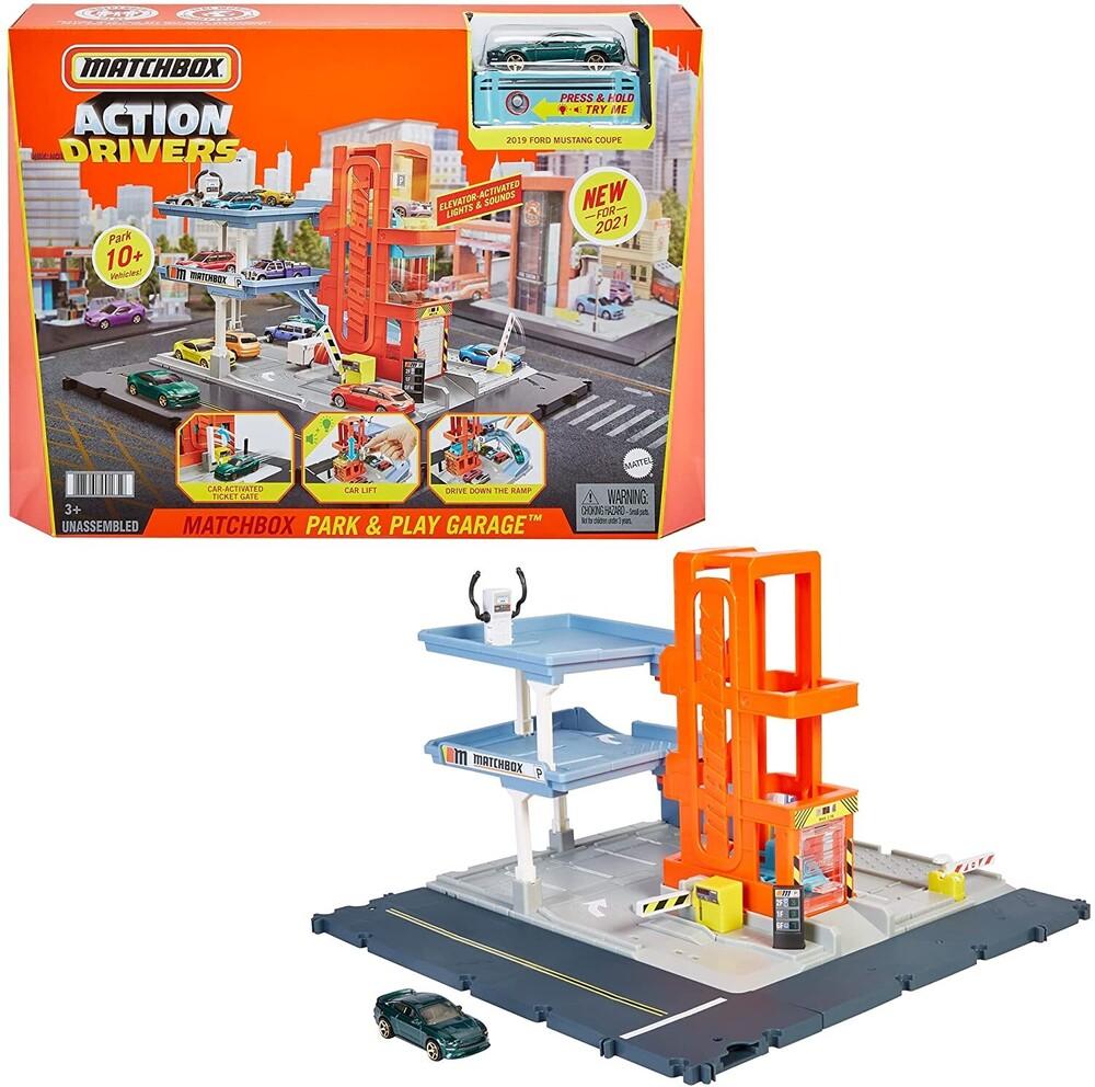 Matchbox - Matchbox Action Drivers Garage Playset With Sound