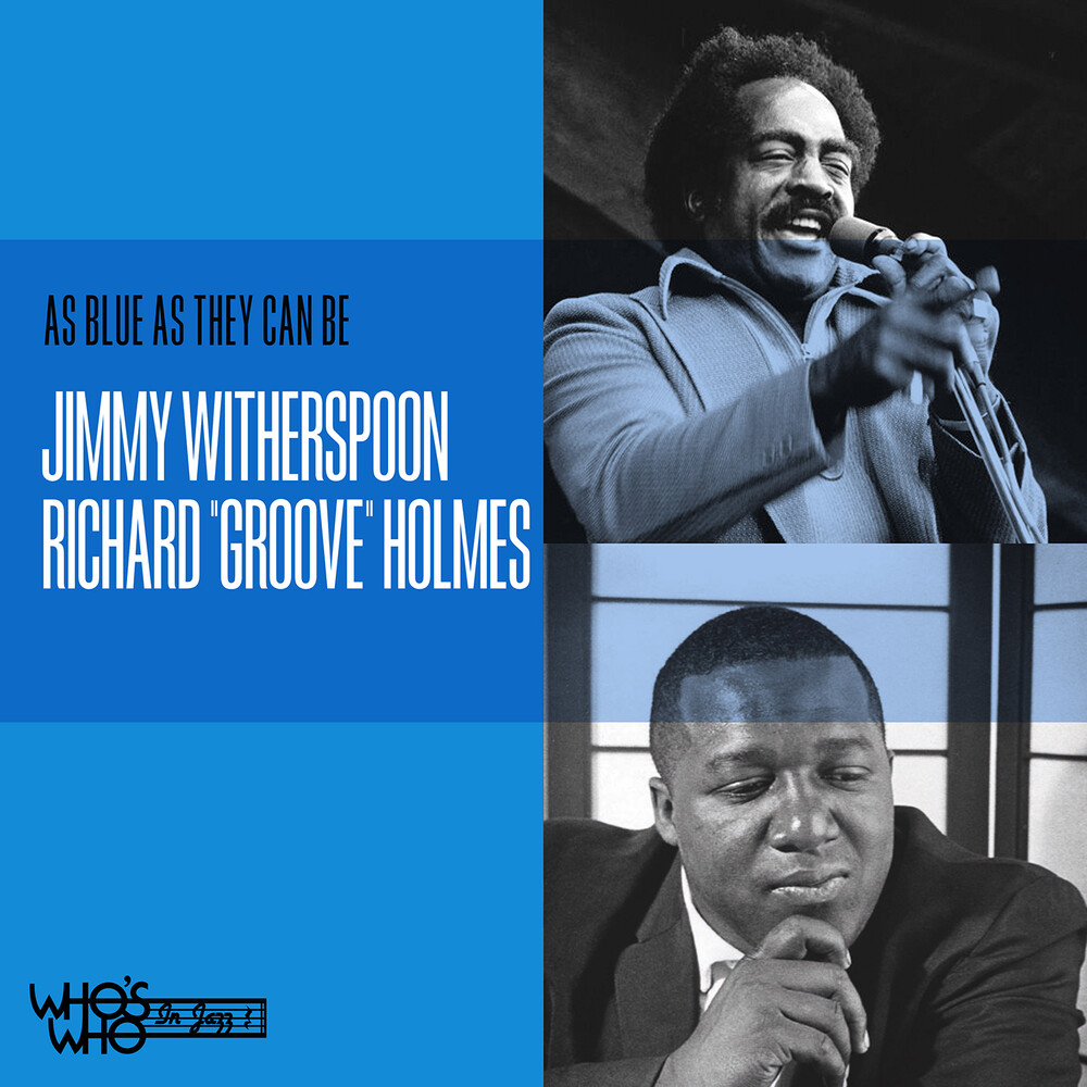 Witherspoon, Jimmy / Holmes, Richard - As Blue As They Can Be