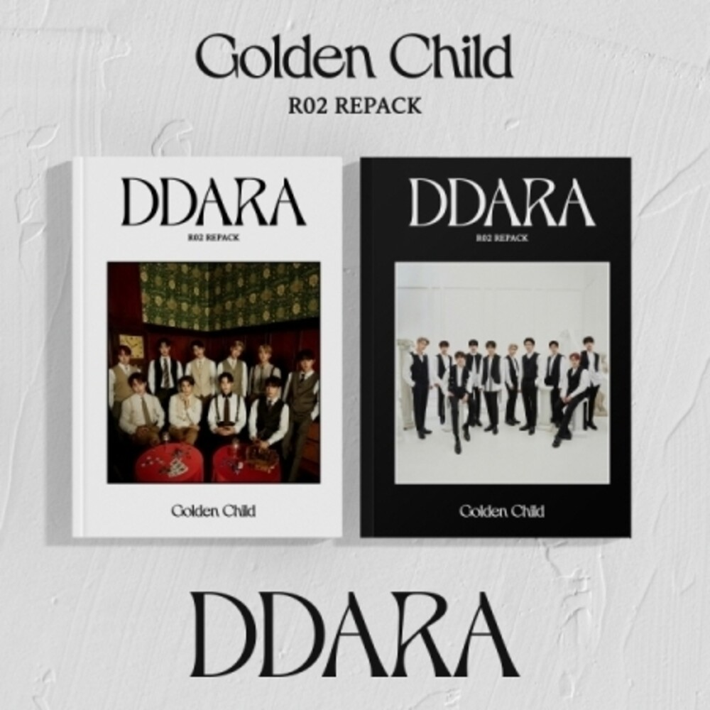 Golden Child - Ddara (incl. 76pg Booklet, 2x Photocard, Film Photo + Special Card)