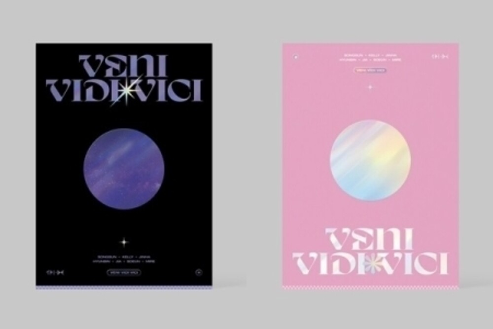 Tri.Be - Veni Vidi Vici (Random Cover) (incl. 92pg Photobook, Behide Postcard Set, Name card, 2x Photocards, Concept Photocard, Ticket +