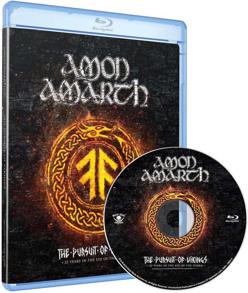 Amon Amarth - The Pursuit of Vikings: 25 Years in the Eye of the Storm [Blu-ray]